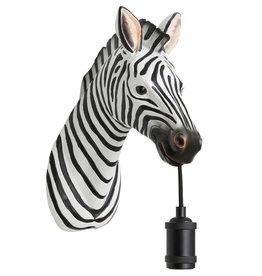 Zebra wandlamp