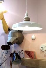 Paper giraffe trophy head