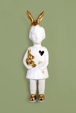 White mini doll by Lammers and Lammers