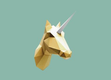 Paper animals and trophees by Assembli