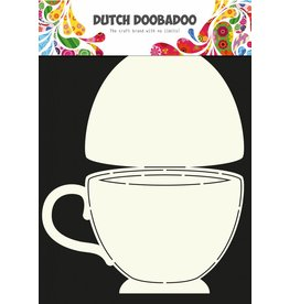 Dutch Doobadoo Dutch Fold Card Art A4 Teacup