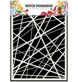 Dutch Doobadoo Dutch Mask Art A5 Stripes