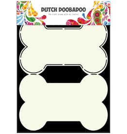 Dutch Doobadoo Dutch Fold Card Art A5 Dog Bone