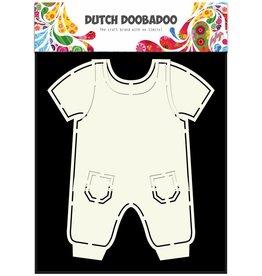 Dutch Doobadoo Dutch Fold Card Art A5 Dungarees