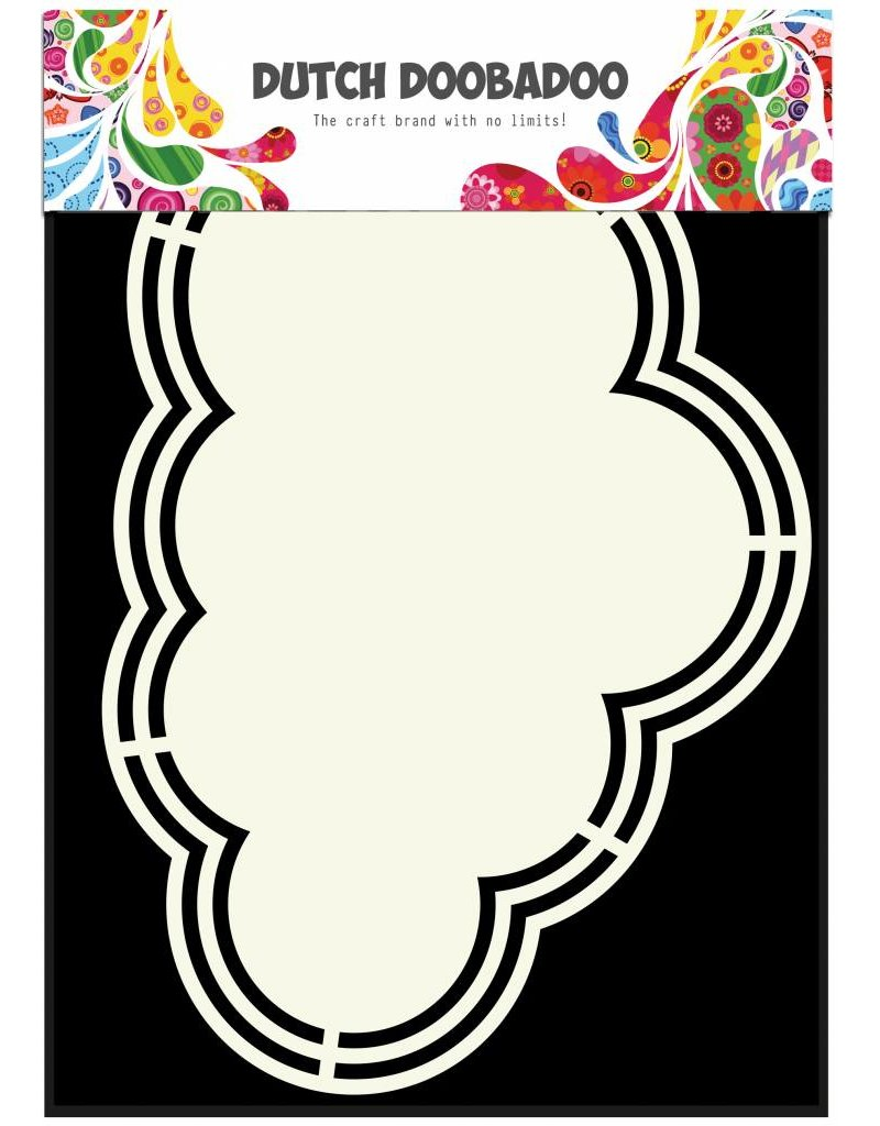Dutch Doobadoo Dutch Shape Art A5 Cloud