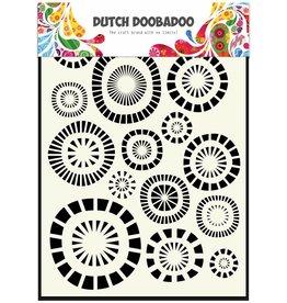 Dutch Doobadoo Dutch Mask Art A5 Circles