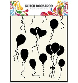 Dutch Doobadoo Dutch Mask Art A5 Balloons Norm/Heart