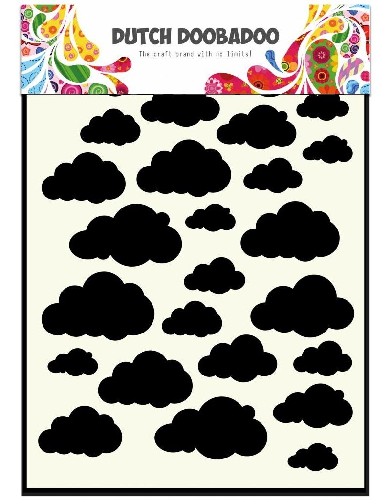 Dutch Doobadoo Dutch Mask Art A5 Clouds
