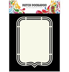 Dutch Doobadoo Dutch Shape Art Tag A5