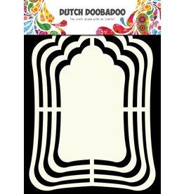 Dutch Doobadoo Dutch Shape Art Label Mirror