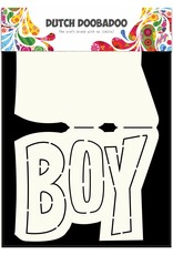 Dutch Doobadoo Dutch Card Art Text 'Boy' A5