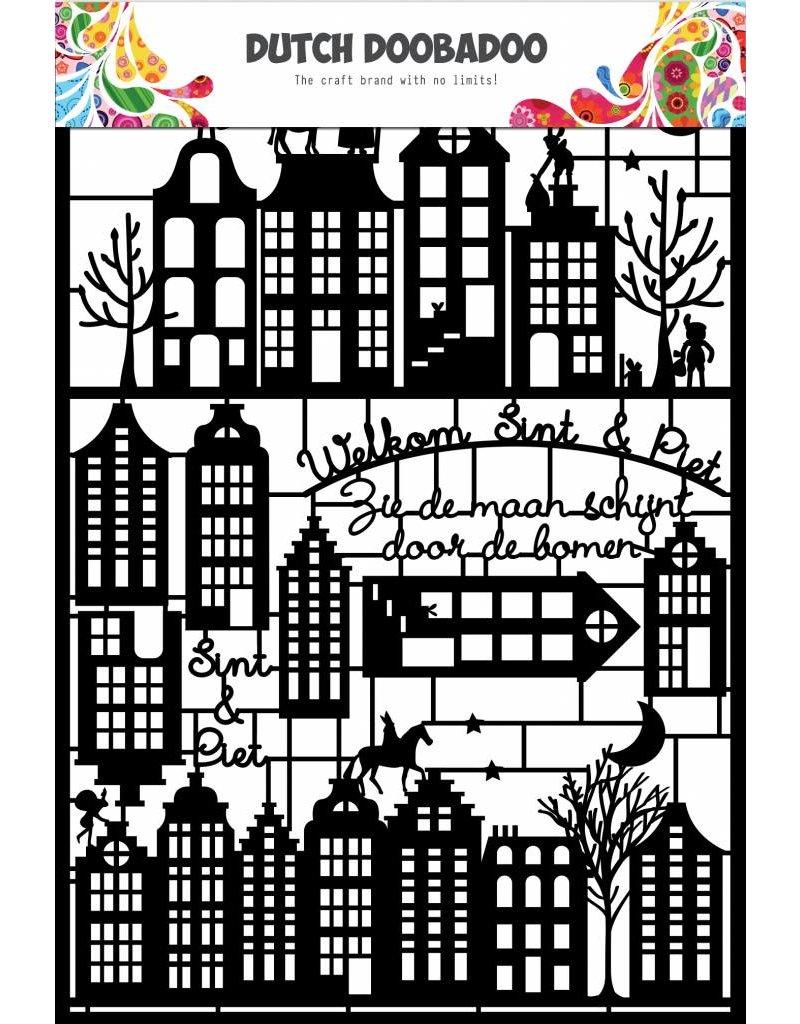 Dutch Doobadoo Dutch Paper Art A5 Sinterklaas