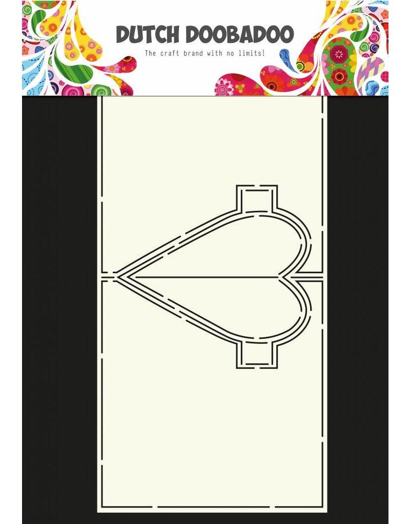 Dutch Doobadoo Dutch Card Art Heart Pop Up A4