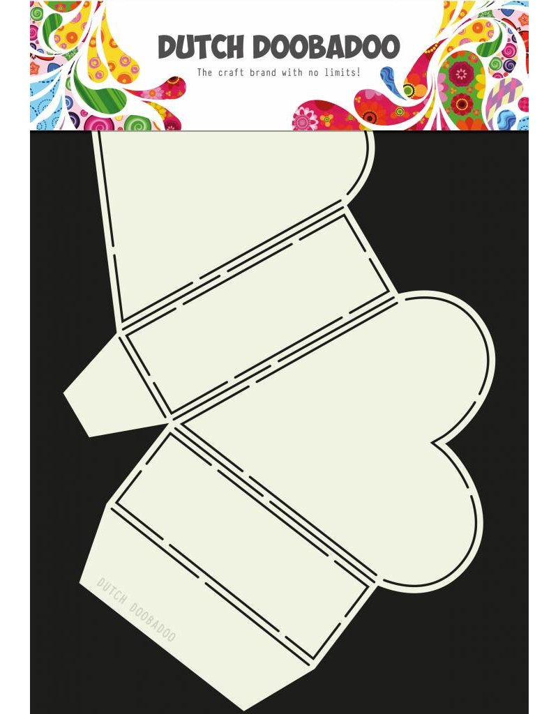 Dutch Doobadoo Dutch Box Art Heart A4