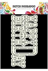 Dutch Doobadoo Dutch Card Art Happy Birthday A5