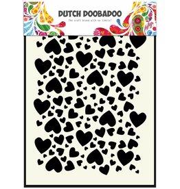Dutch Doobadoo Dutch Mask Art A5 Hearts