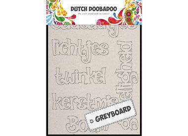 DUTCH GREY BOARD ART