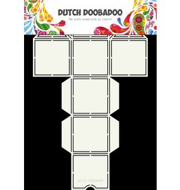 Dutch Doobadoo Dutch Box Art Straw Dispenser A4