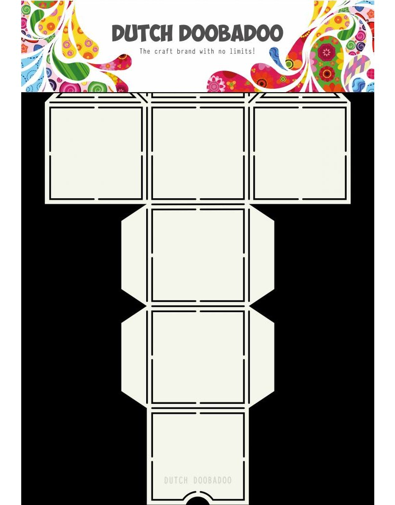 Dutch Doobadoo Dutch Box Art Straw Dispenser A4