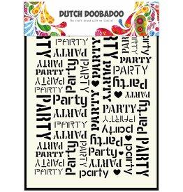 Dutch Doobadoo Dutch Mask Art A5 Party