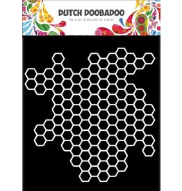 Dutch Doobadoo Dutch Mask Art 15 x15 Honeycomb