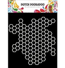 Dutch Doobadoo Dutch Mask Art 15 x15 Honeycomb