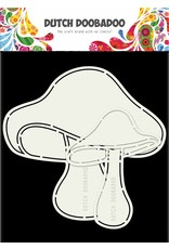 Dutch Doobadoo Dutch Card Mushrooms 2pcs A5