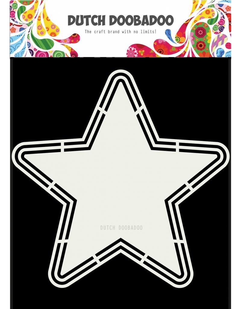 Dutch Doobadoo Dutch Shape Art Star A4