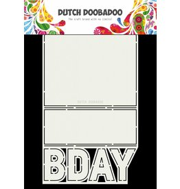 Dutch Doobadoo Dutch Card Art B-day A4