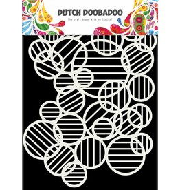 Dutch Doobadoo Dutch Mask Art Circle Lines A5