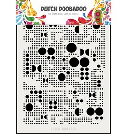 Dutch Doobadoo Dutch Mask Art Mylar Various Dots A5