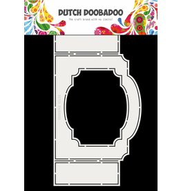 Dutch Doobadoo Fold card art ticket with frame A4