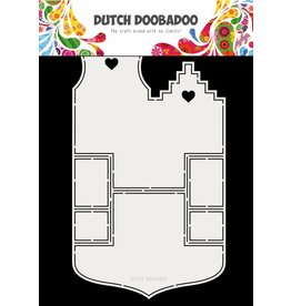 Dutch Doobadoo Fold card Small Houses A4