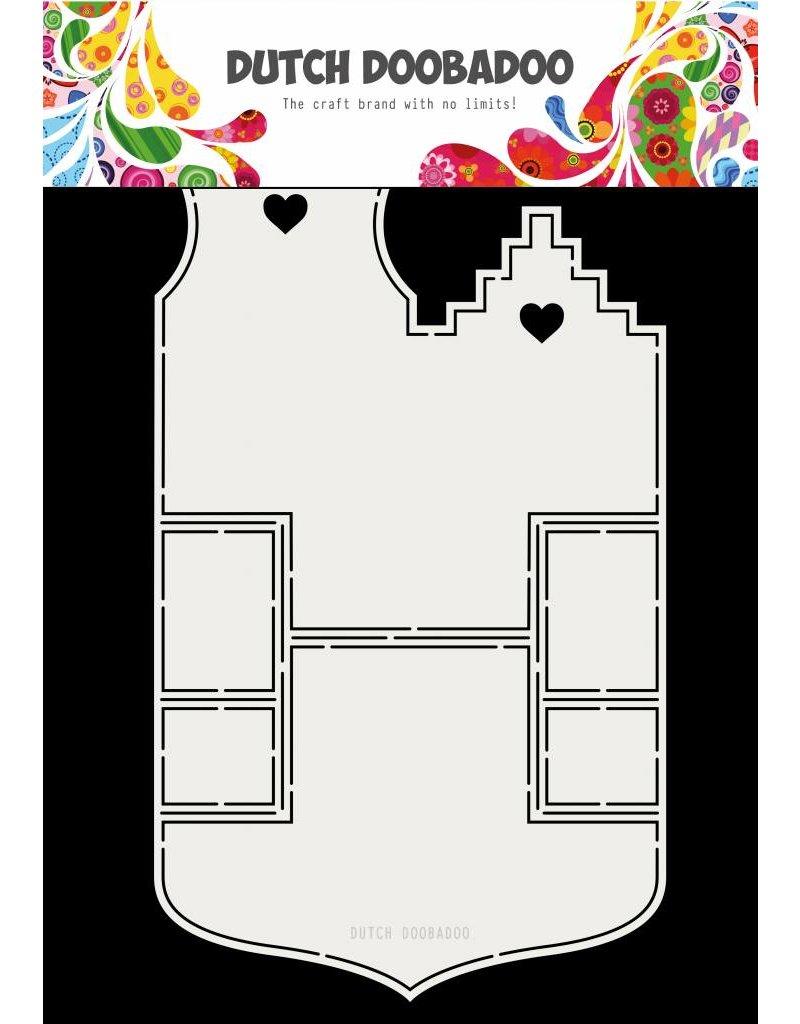 Dutch Doobadoo Fold card Small Houses A4