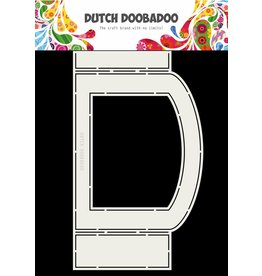 Dutch Doobadoo Fold Card art oval A4