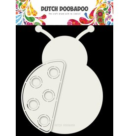 Dutch Doobadoo Dutch Card Art Lady Bug A5