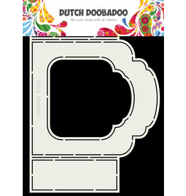 Dutch Doobadoo Fold Card art Label A5