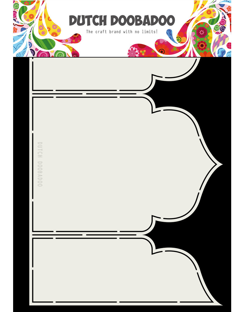 Dutch Doobadoo Fold Card art Arabesque A4