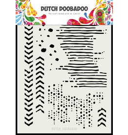 Dutch Doobadoo Dutch Mask Art Grunge mix A5
