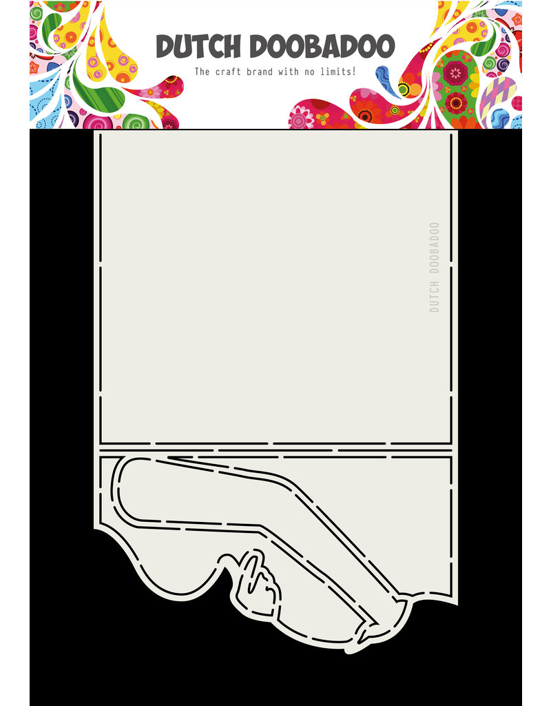 Dutch Doobadoo Dutch Card art pregnant 250 x 160mm