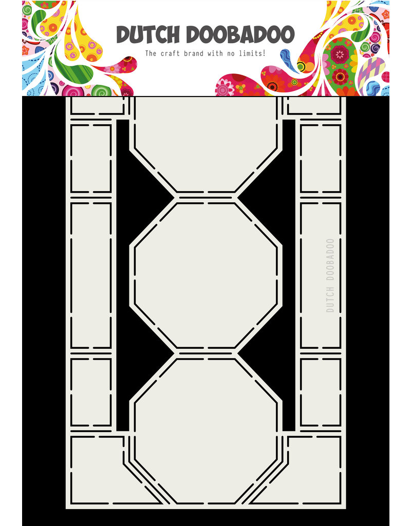 Dutch Doobadoo Dutch Card art Octagons 250 x 150mm