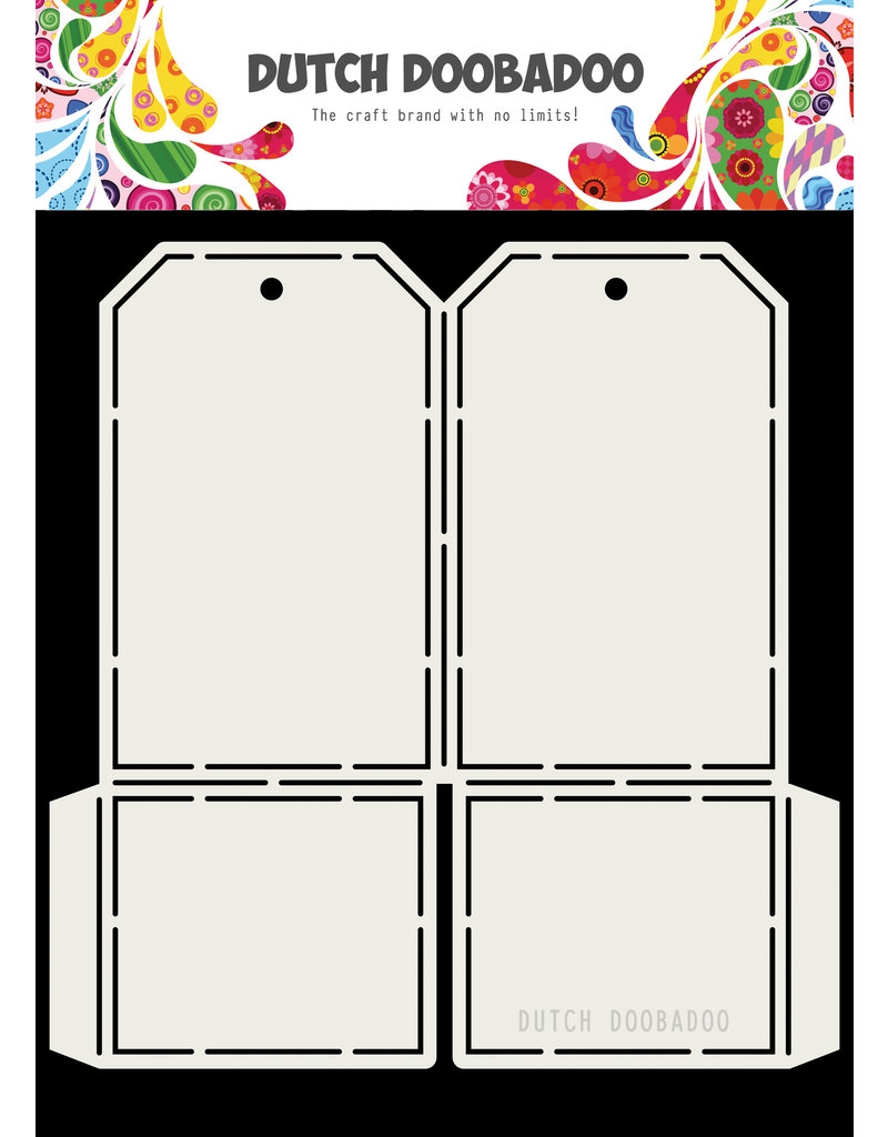 Dutch Doobadoo Dutch Card art Tag 148x155mm