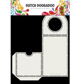 Dutch Doobadoo Dutch Fold Card Bottle label 207 x 256mm