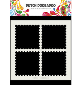 Dutch Doobadoo Dutch Mask Art 15 X 15 cm Postal Stamps