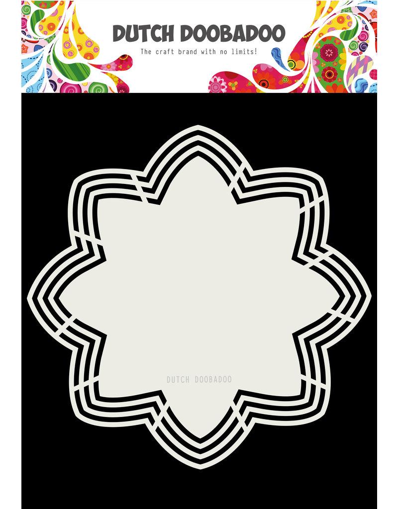 Dutch Doobadoo Dutch Shape Art Octo Flower 21x21