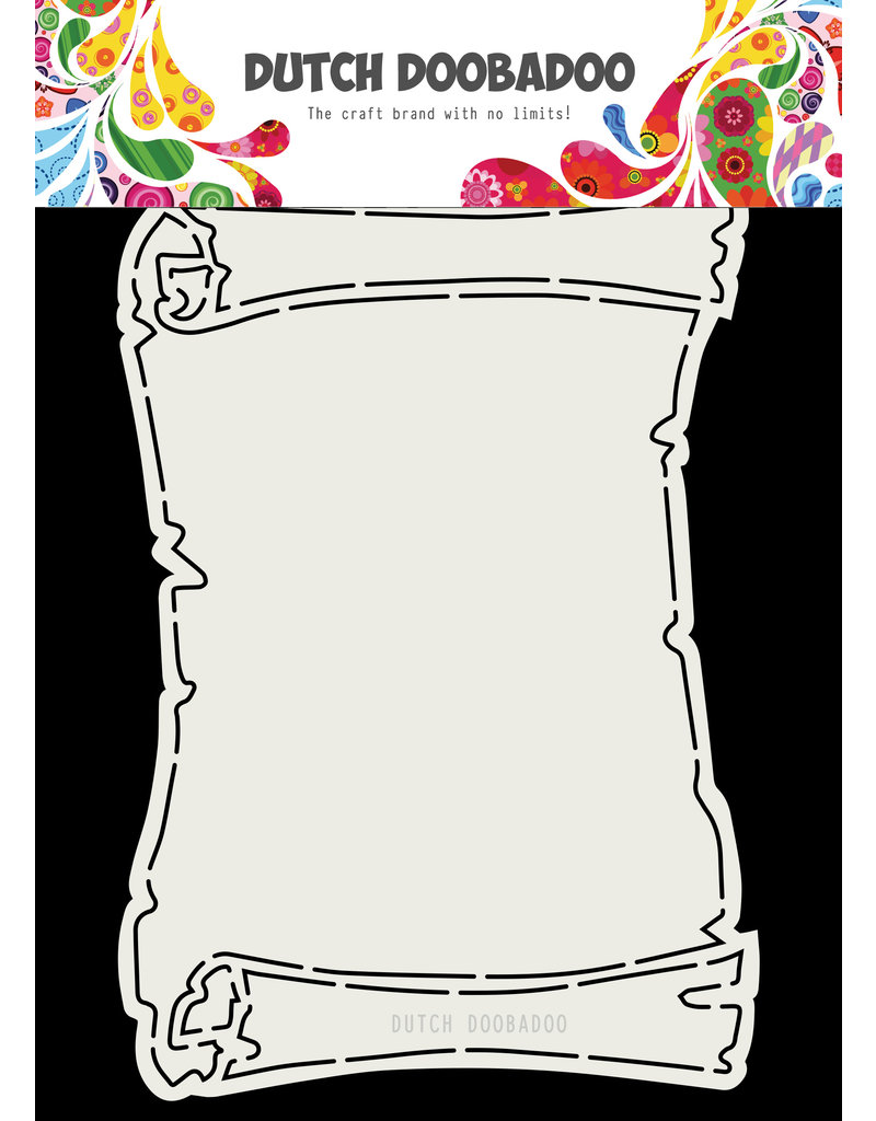 Dutch Doobadoo DDBD Card Art Treasure Map A5