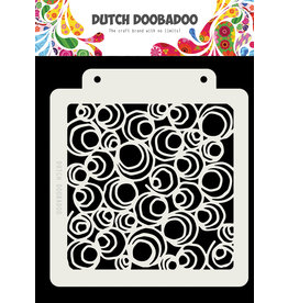 Dutch Doobadoo Dutch Mask Art Doodle Circle 163x148