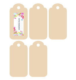 Dutch Doobadoo MDF Tags 5x