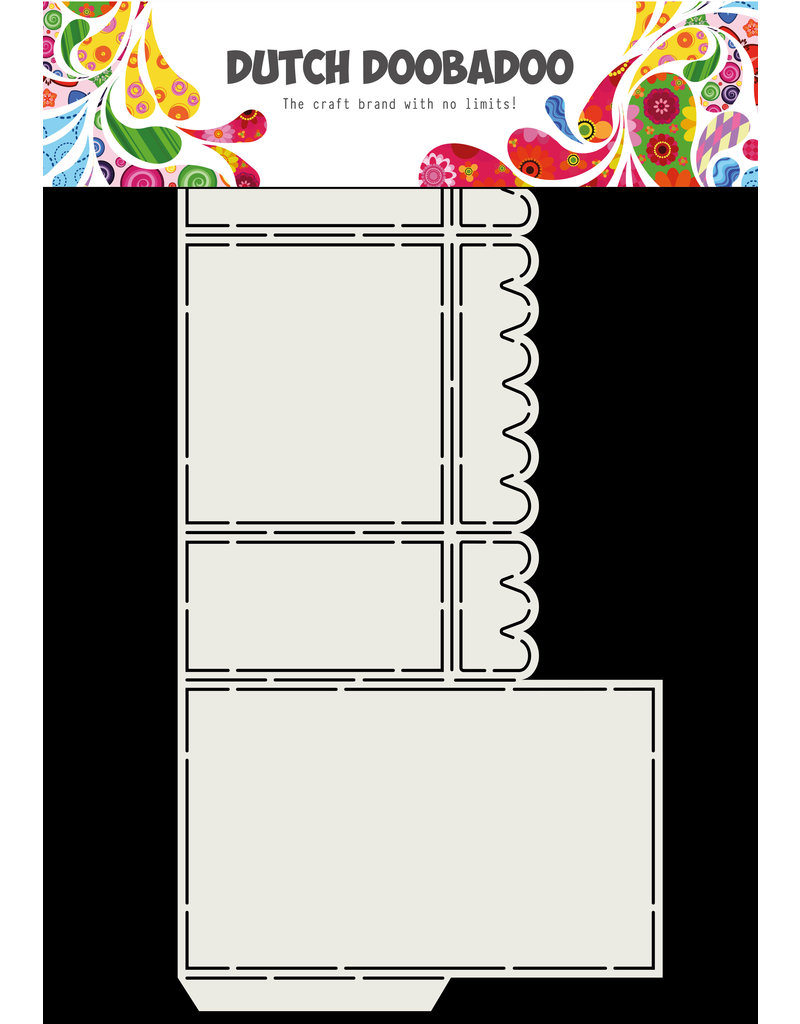 Dutch Doobadoo Dutch Box Art scallop A4
