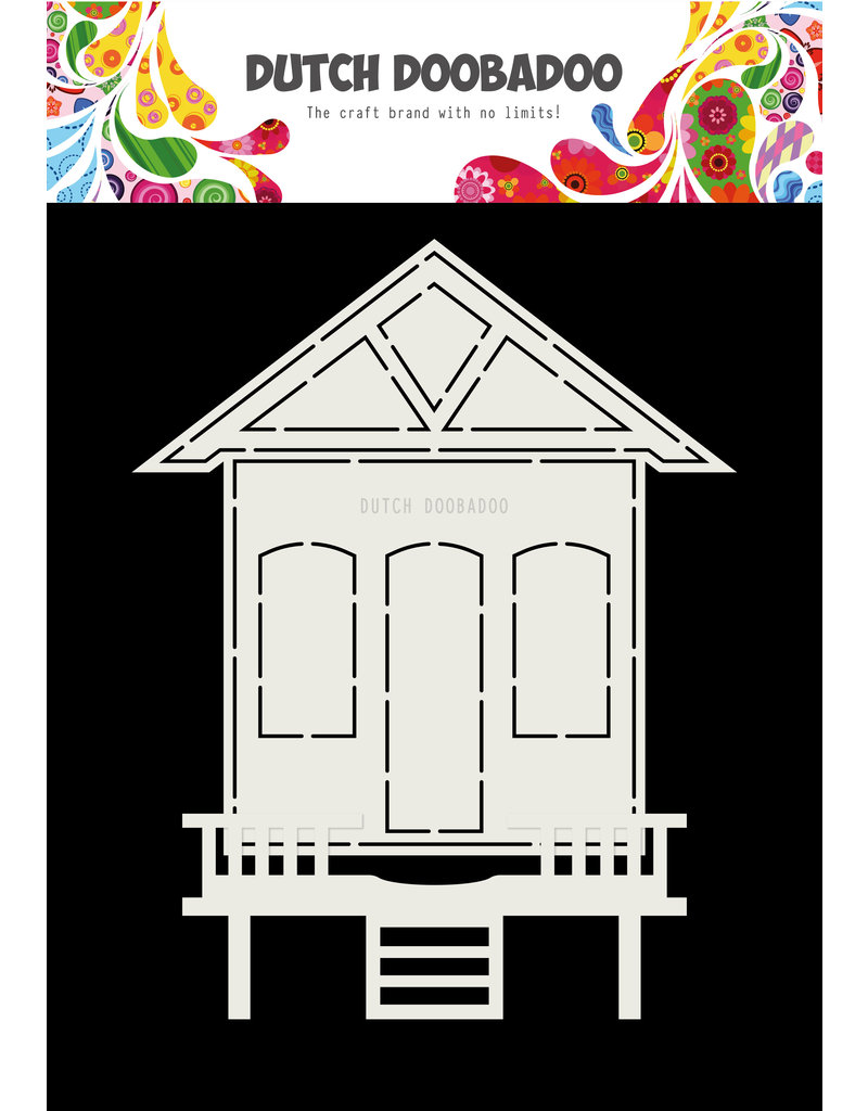 Dutch Doobadoo DDBD Card Art House A5